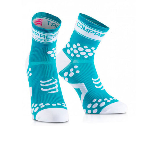 Calcetines Pro Racing Socks v2 Fluo Celeste