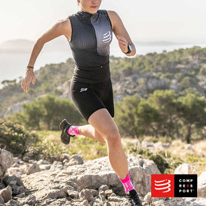 Calcetines COMPRESSPORT Pro Racing Socks Trail V3 Pink/Melange