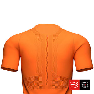 Nuevo Trail Half-Zip Fitted SS Top Cúrcuma Compressport