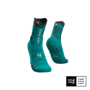 Calcetines COMPRESSPORT Pro Racing Socks Trail V3 Nile/Blue