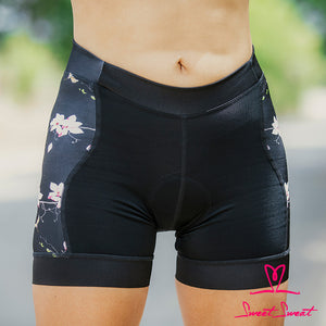 Tri Short Flores Sweet Sweat