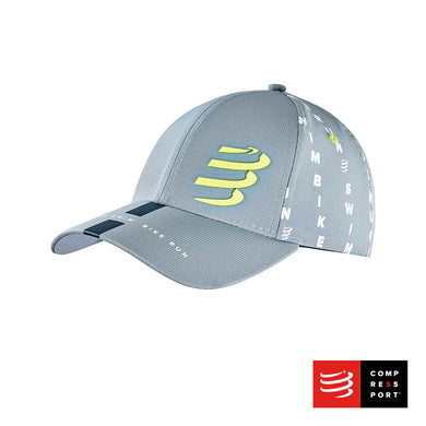 Trucker Cap COMPRESSPORT Gris - BORN TO SWIMBIKERUN 2020