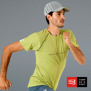 Training Tshirt SS Lime - BORN TO SWIMBIKERUN 2020