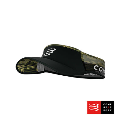 Visera Compressport Ultralight Negro/Camo