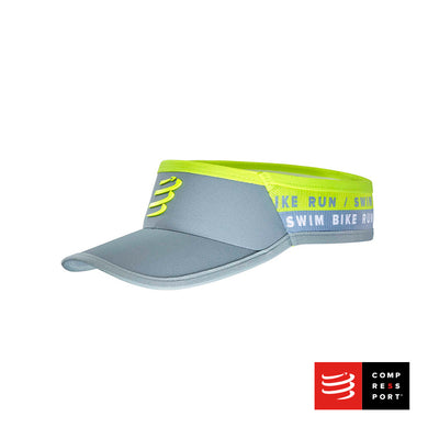 Visera Ultralight Gris - BORN TO SWIMBIKERUN 2020 Compressport