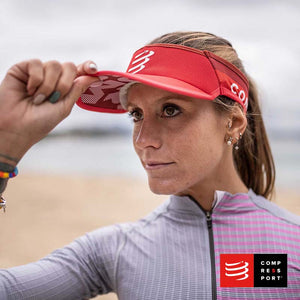 Nueva Visera Ultralight Roja Compressport