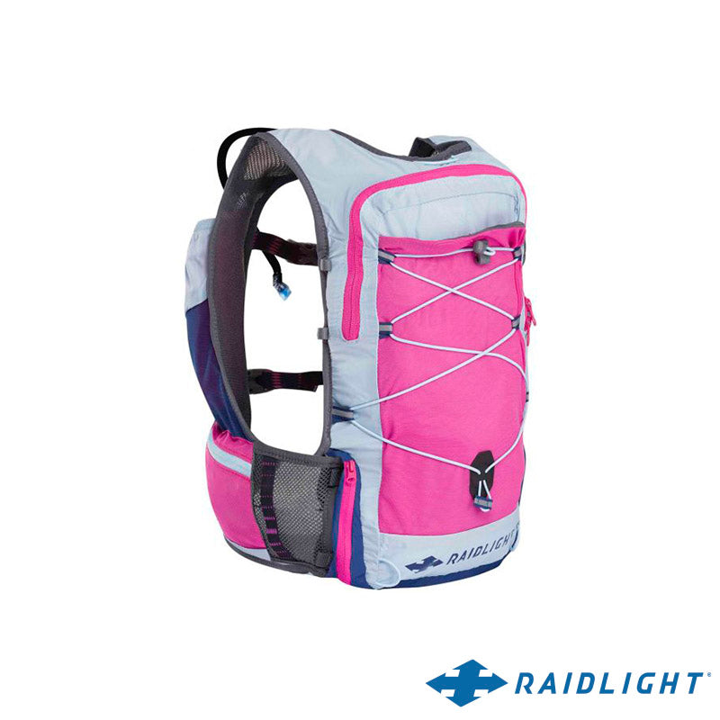 Chaleco de Hidratación Activ Vest 6L Dark Pink/Light Blue Mujer - RAIDLIGHT