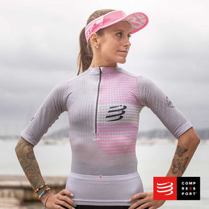 Nuevo Tri Postural SS Top Gris Mujer Compressport