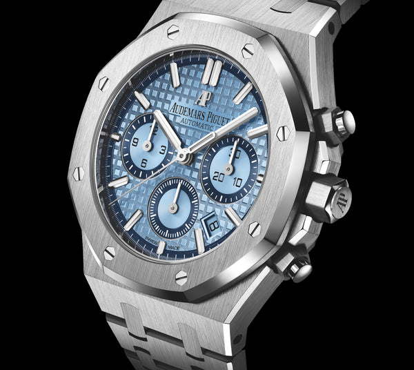 "Audemars Piguet Royal Oak Chronograph iN ""Light-Blue"""
