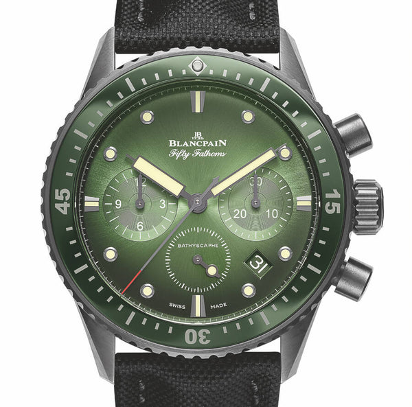 Blancpain Fifty Fathoms Bathyscaphe Chronographe Flyback