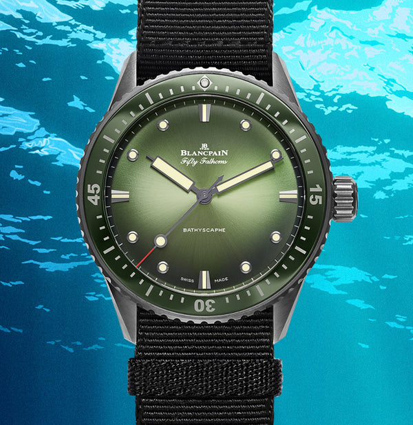 Blancpain Fifty Fathoms Bathyscaphe Mokarran