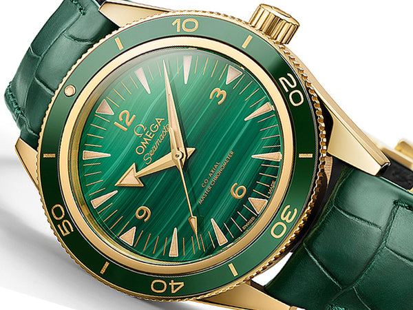 "Omega Seamaster 300 Co-Axial Master Chronometer ""Malachite"""