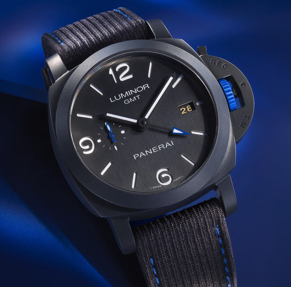Officine Panerai Luminor GMT Bucherer Blue
