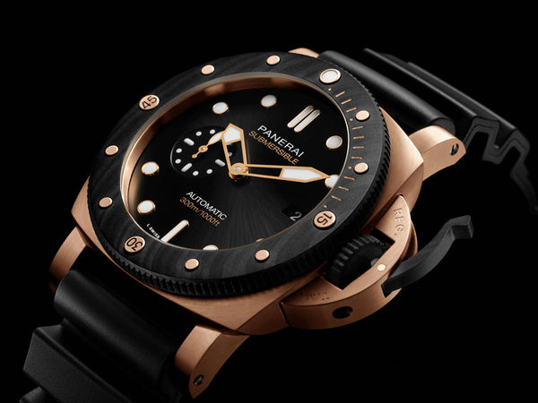 "Panerai Submersible Goldtech Orocarbo<span class=""Apple-converted-space""> </span>"