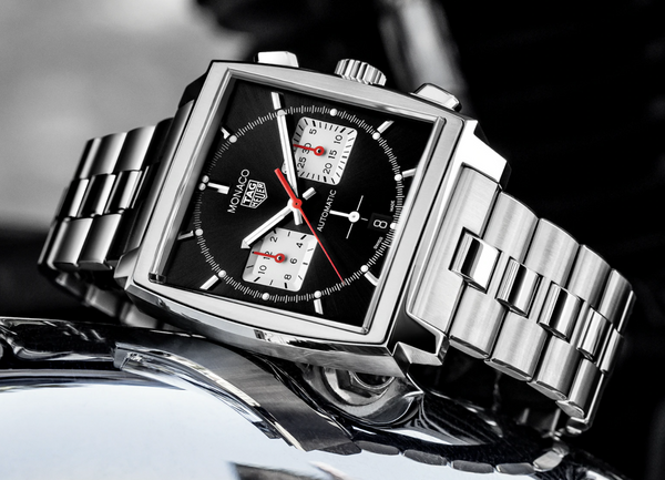 TAG Heuer Monaco on a Bracelet
