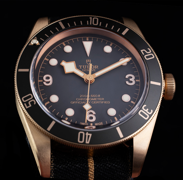 Tudor Black Bay Bronze Slate Dial