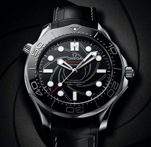 "Omega Seamaster Diver 300M ""James Bond"" Platinum-Gold Numbered Edition"