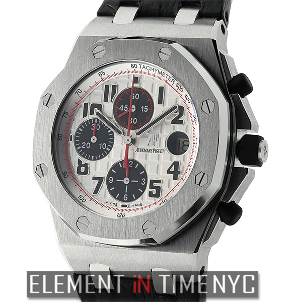 Chronograph Stainless Steel Panda Dial 42mm
