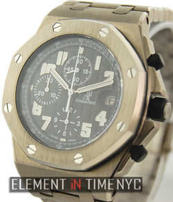 Titanium Chronograph Grey Dial 42mm