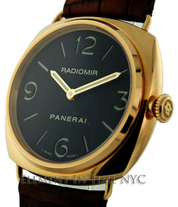 Radiomir Base 18k Rose Gold 45mm