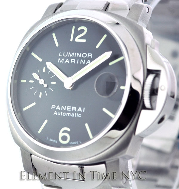 Luminor Marina 40mm Stainless Steel Black Dial