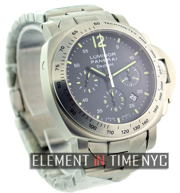 Luminor Daylight Chronograph 44mm Stainless Steel