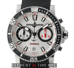 Chronograph Stainless Steel 43mm Silver Dial