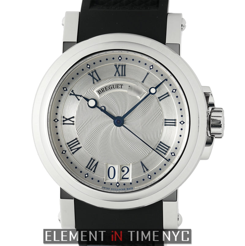 Big Date Stainless Steel 39mm Silver Dial Automatic