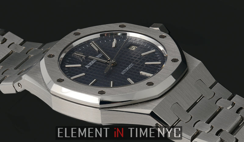 Stainless Steel 39mm Blue Dial 2009