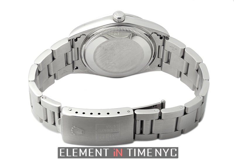 Stainless Steel Domino's Silver Dial 34mm Circa 1994