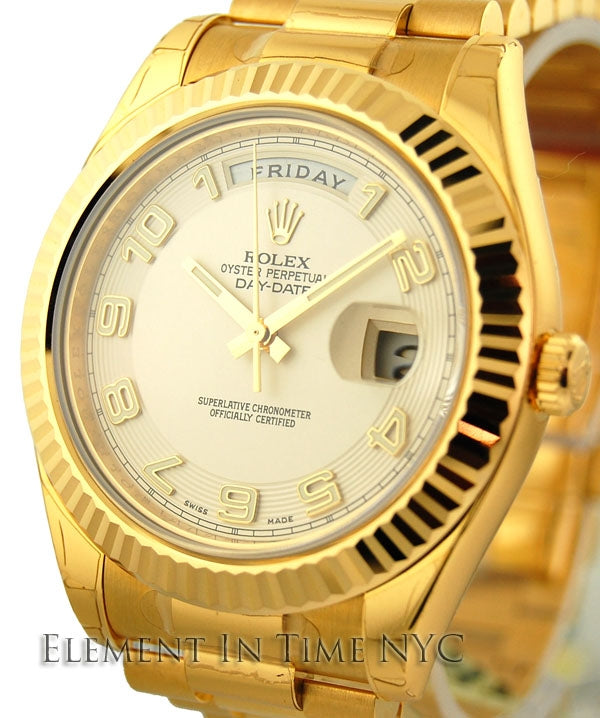 18k Yellow Gold Day-Date 41mm