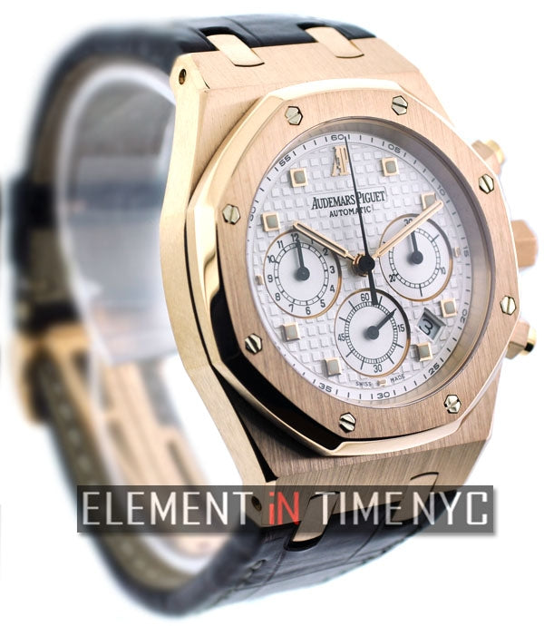 Chronograph 18k Rose Gold