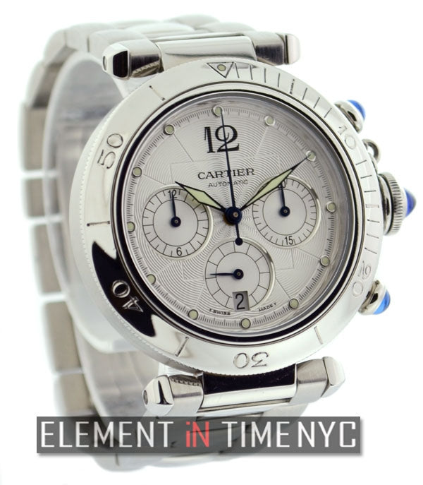 Pasha Chronograph Stainless Steel 38mm