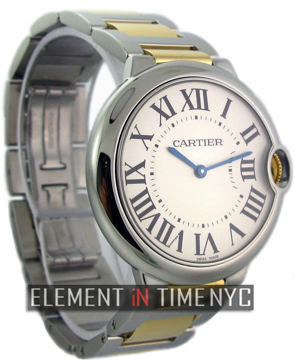 Mid-Size 36mm Steel & Gold Automatic