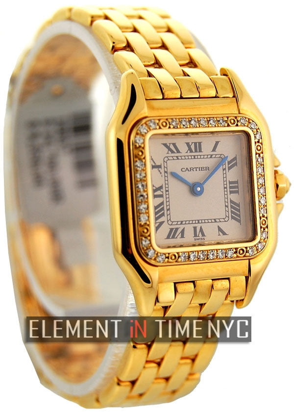 Panthere Ladies 22mm Size Factory Diamond Bezel