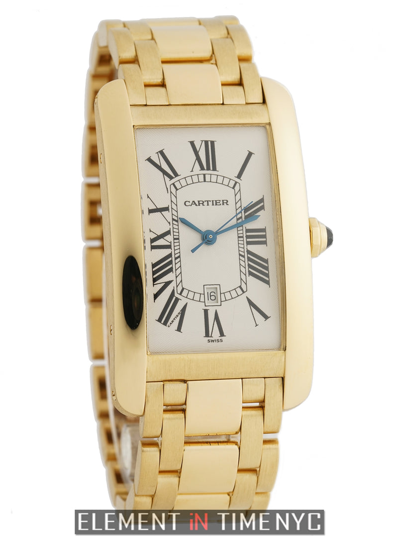 Tank Americaine 18k Yellow Gold Large 27mm