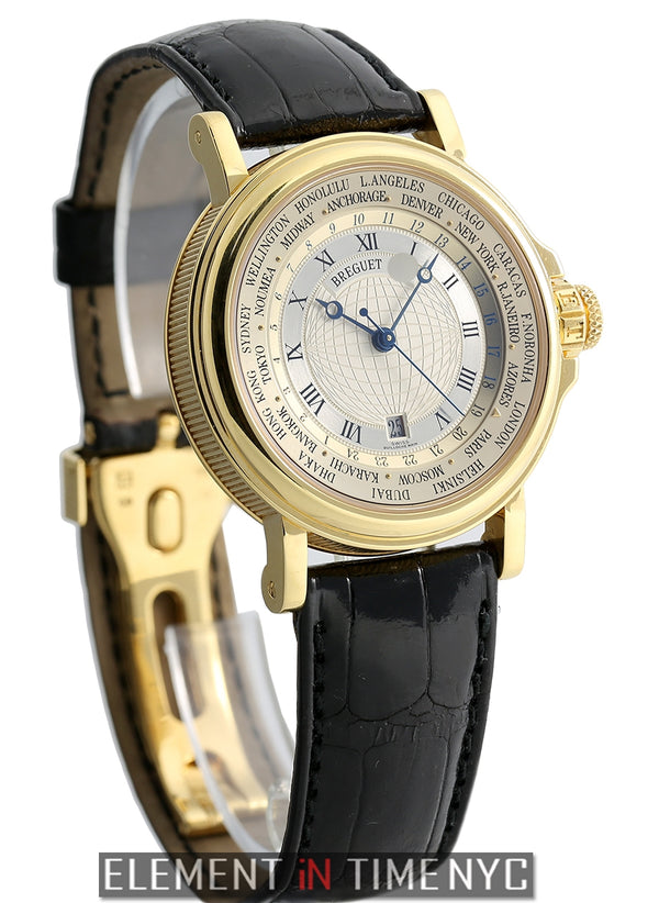 Hora Mundi 24 Time Zones 18k Yellow Gold 38mm 2001