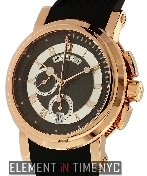 Chronograph 18k Rose Gold/Rubber 42mm