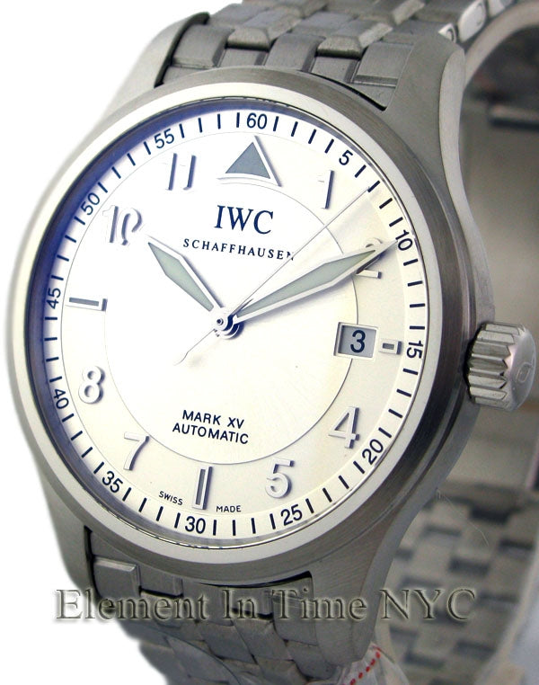 Mark XV Stainless Steel Silver Spitfire Dial