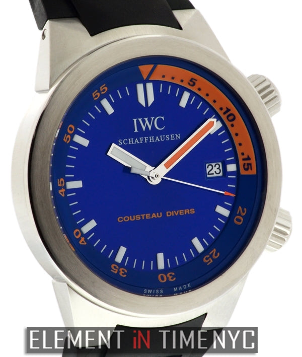 Aquatimer Cousteau Divers 1000M Limited Edition