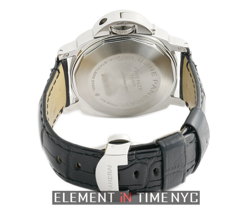 Luminor Power Reserve Steel 44mm Black Dial K Series 2009