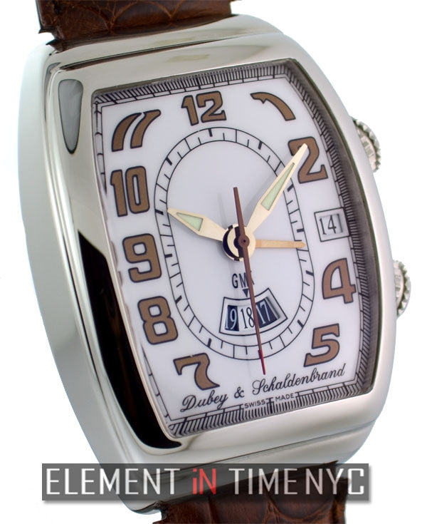 Stainless Steel Alarm GMT 38mm
