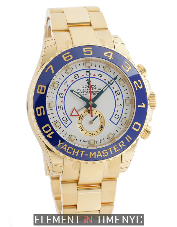 Countdown Function 18k Yellow Gold White Dial
