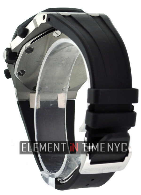42mm Rubber Clad Black Dial
