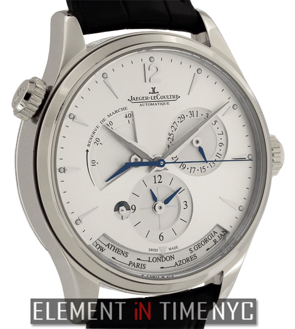 Master Geographic Stainless Steel 39mm