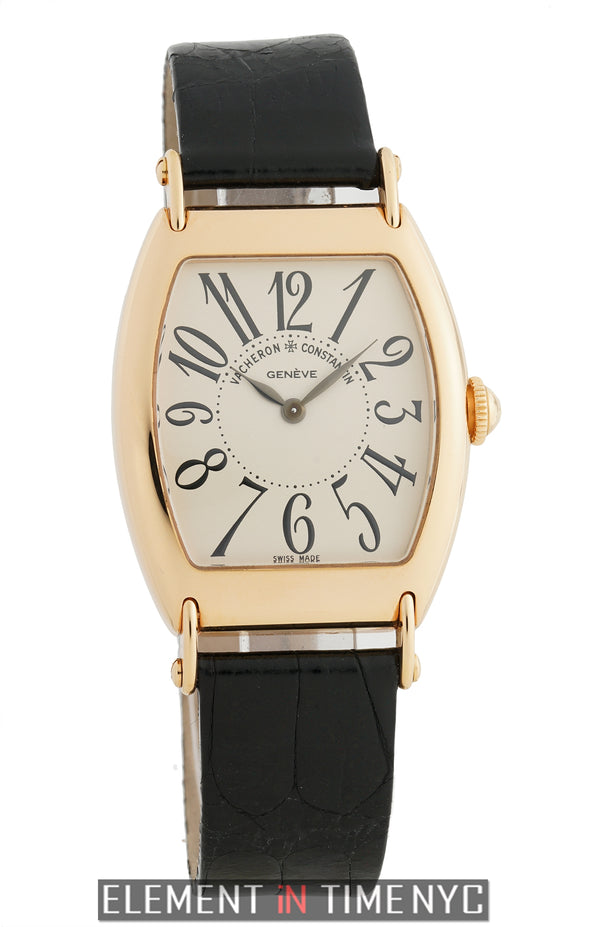 1912 Limited Edition 18k Rose Gold 31mm Silver Dial