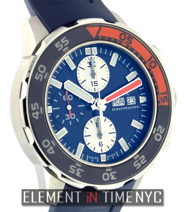 Automatic Chronograph Blue Dial