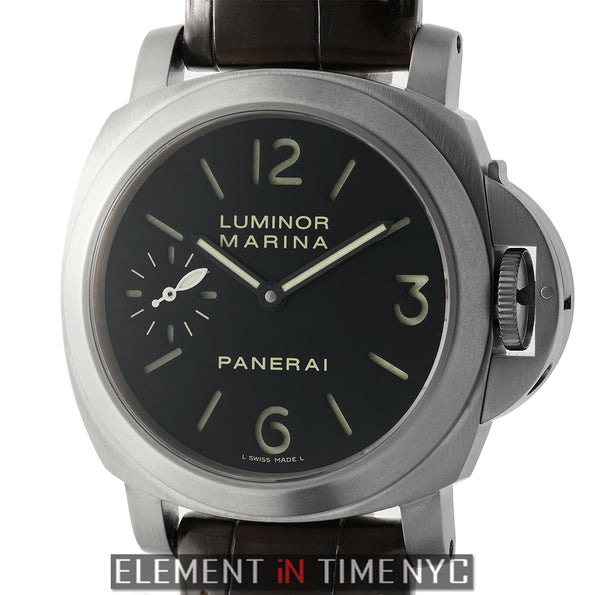 Luminor Marina 44mm Titanium O Series 2013