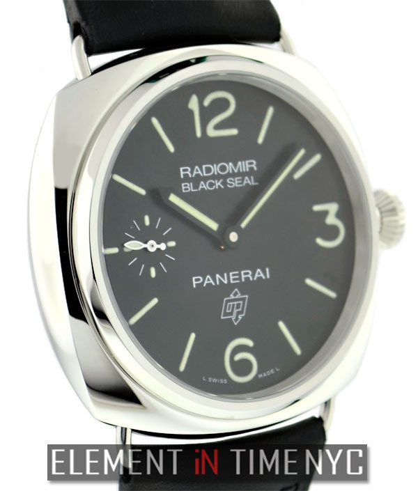 Radiomir Black Seal Logo 45mm Stainless Steel