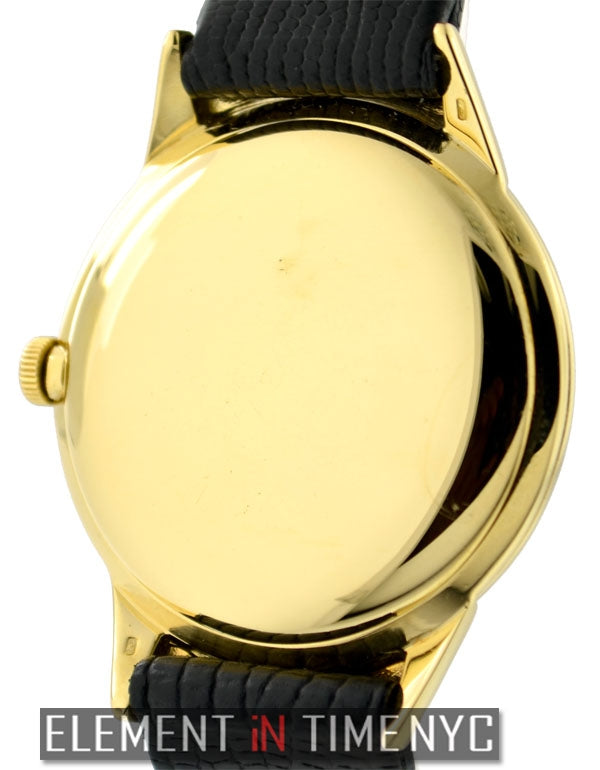 Vintage Dress Watch 18k Yellow Gold 33MM